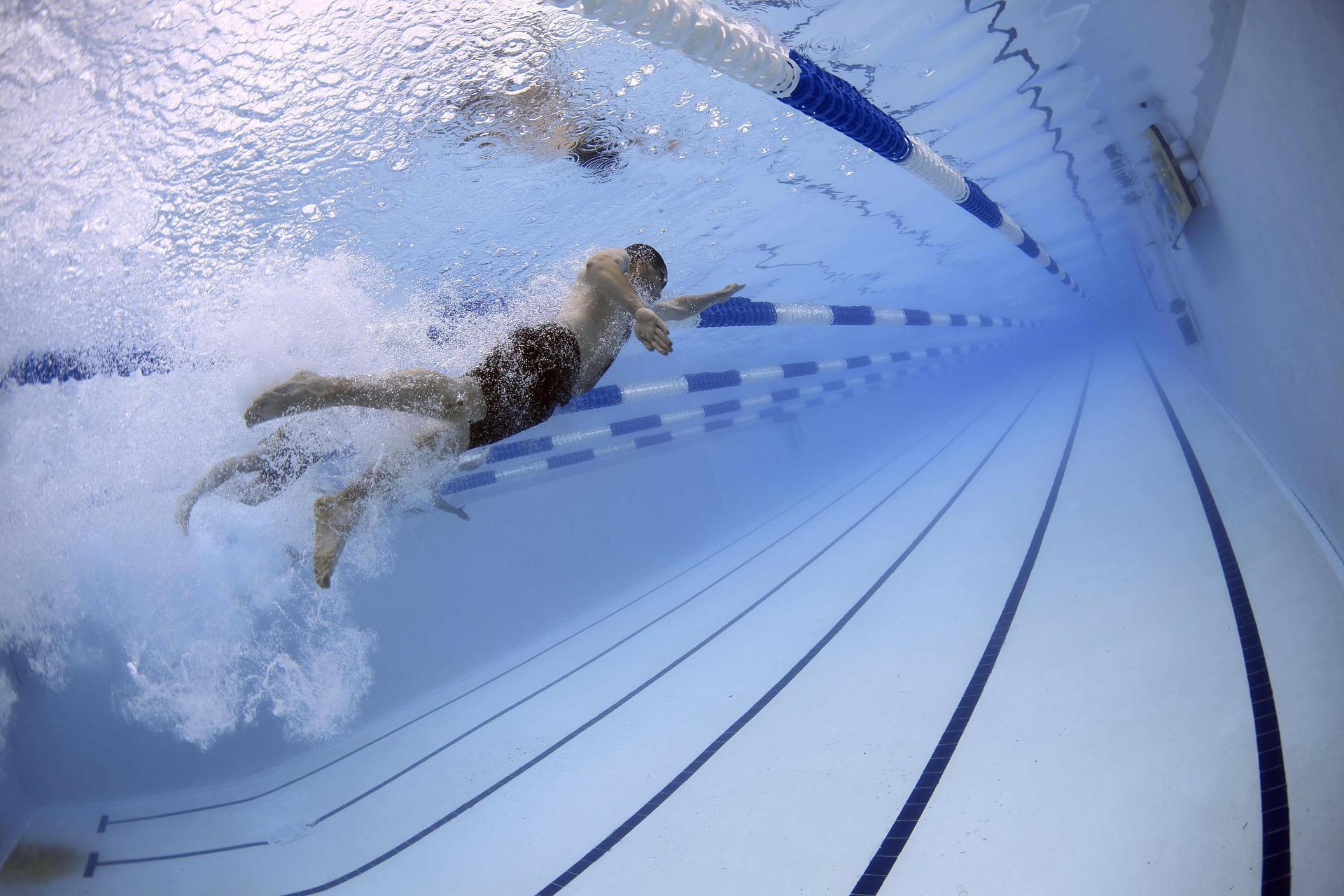 Swimming pool courses Paul R Salmon